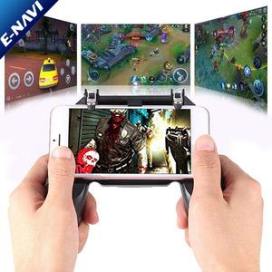 HOT SALE W10 Mobile Phone Game Controller Gamepad Joystick Fire Trigger for PUBG Fortnite