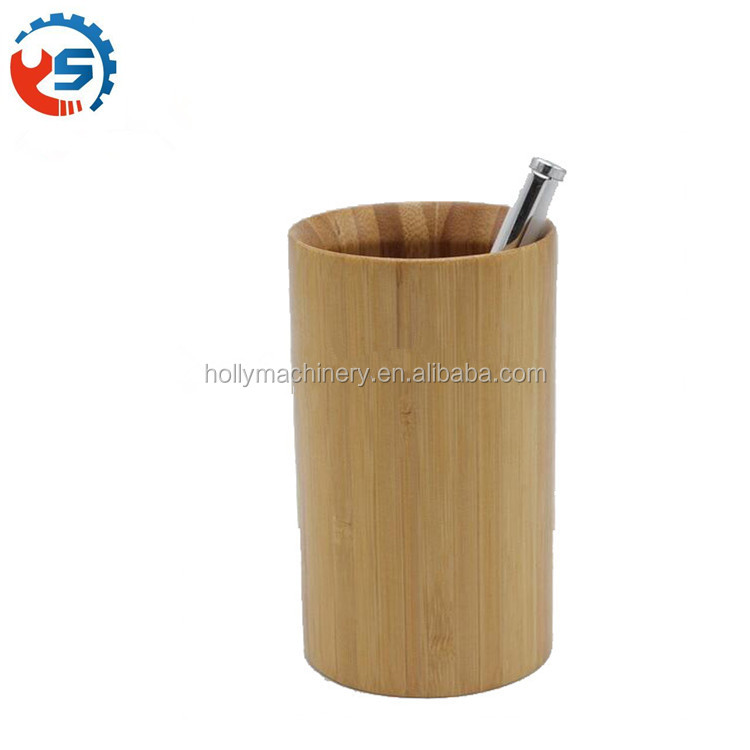 ISO9001 Custom CNC central machining wooden pen holder parts
