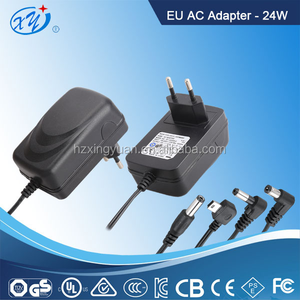 100-240v 24w Ac Dc 12V 2A Iphone 7 Audio Adapter for Led Light