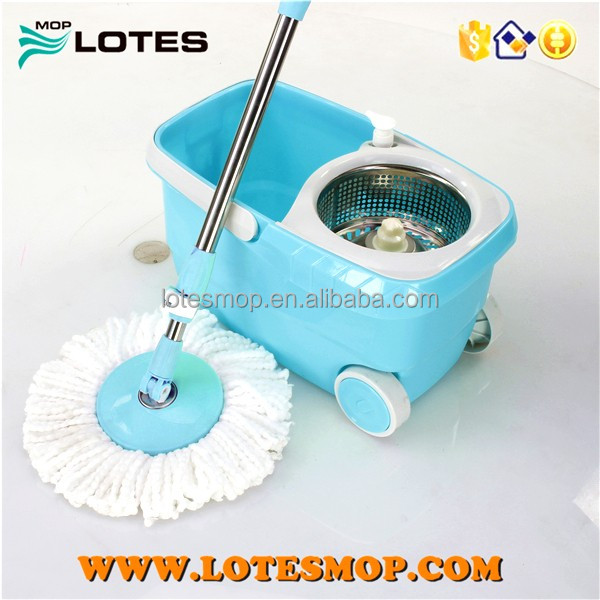 high quality Mini Spin Go Magic Cotton Mop with 2 Mop head