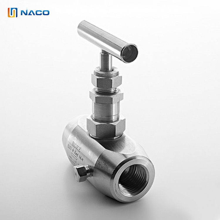 10000psi Stainless Steel Handle Angle Patterns Rising Plug Valve