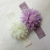 Kids flower hair band cute lace flower headband baby girl