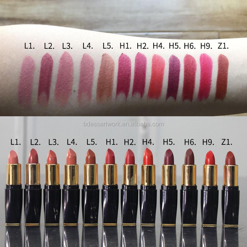 inventory high quanlity waterproof lipstick accept customized