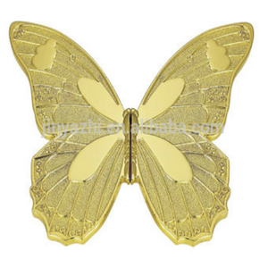 classical golden butterfly drawer handles zinc alloy fancy butterfly drawer handles