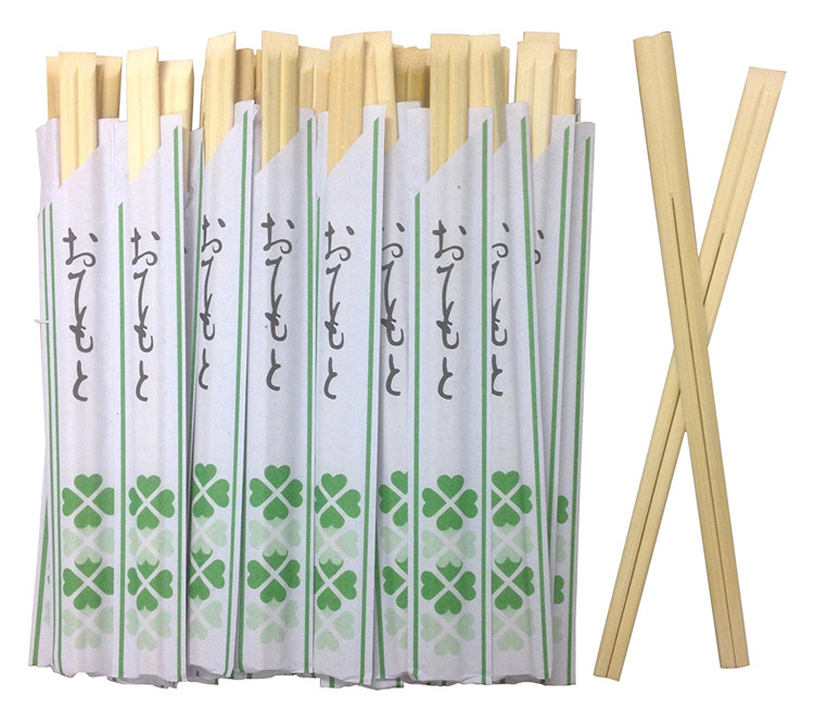 Wholesale cleaning natural chopsticks with custom logo