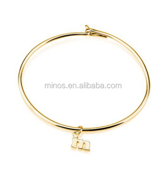 b915e078b797e Gold Stainless Steel Bracelet,Name Bracelet Initial Bracelet,Initial Bangle  Up To 1 Character - Buy Gold Stainless Steel Bracelet,Kada Bangle 316l ...