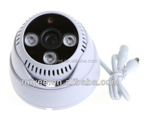 RY-8003B Low Price Factory Supply Plastic Day Night IR Array LED CCTV Analog Dome Camera 600TVL