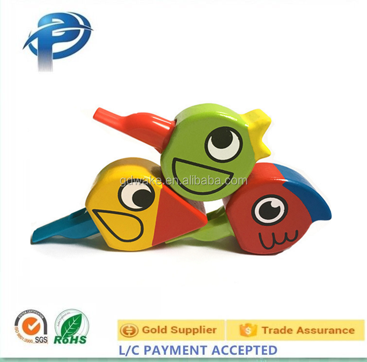 Funny animal bird shaped whistle toys,Educational whistle toys Musical Instrument For Kids