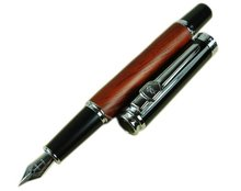Fountain Pen Rose Wood Barrel Vintage Style