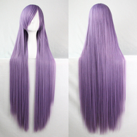 Hot Sales Women Fashion Long Hair Wigs Straight Wig Human Hair Anime Cosplay Wig
