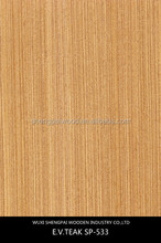 low price reconstituted teak wood veneer/thin brick veneer for furniture hotel face skins with top trusty quality