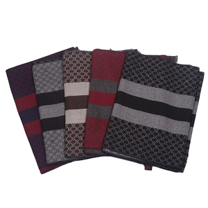Newest Design Classic Mens Winter Scarf, High Quality Casual Men Shawl