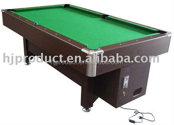 Oem Electronic Token Operating Billiard TableCheap Electric Coin - Electronic pool table