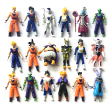 18 verschillende stijl Action Figure <span class=keywords><strong>Dragon</strong></span> <span class=keywords><strong>Ball</strong></span>, nieuwste anime films <span class=keywords><strong>Dragon</strong></span> <span class=keywords><strong>Ball</strong></span> heropleving, nieuwe <span class=keywords><strong>Figuur</strong></span> anime speelgoed
