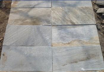white gold slate swimming pool deck tiles - buy desert gold slate