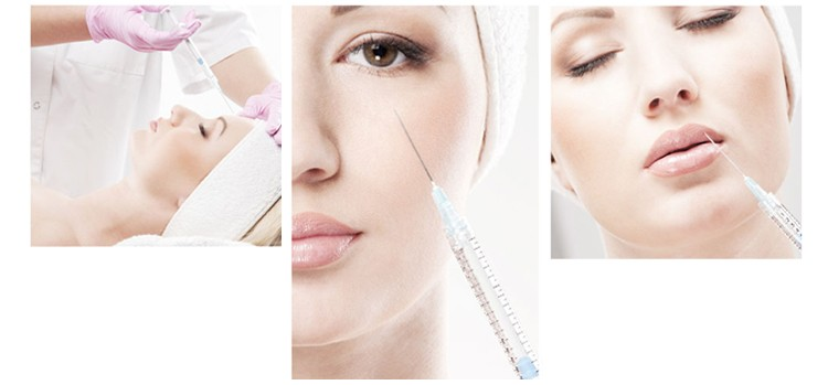 Top-q acide hyaluronique visage injections pour le lifting 1 ml