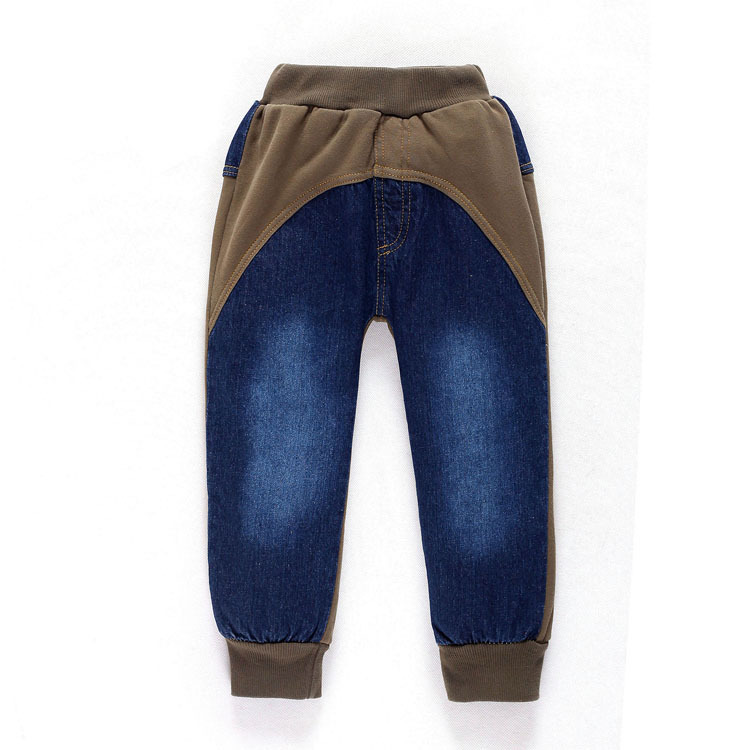 9c91d2090b8 Buy 2015 New autumn winter denim boys pants brand fashion patchwork baby  boys pants long kids pants baby clothing casual kids pants in Cheap Price  on ...