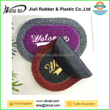 fashion design eco friendly pvc welcome door mat