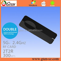 For LAPTONE UK WIFI 300Mbps WIRELESS DUAL BAND ADAPTOR 802.11 N LAN USB DONGLE ADAPTER