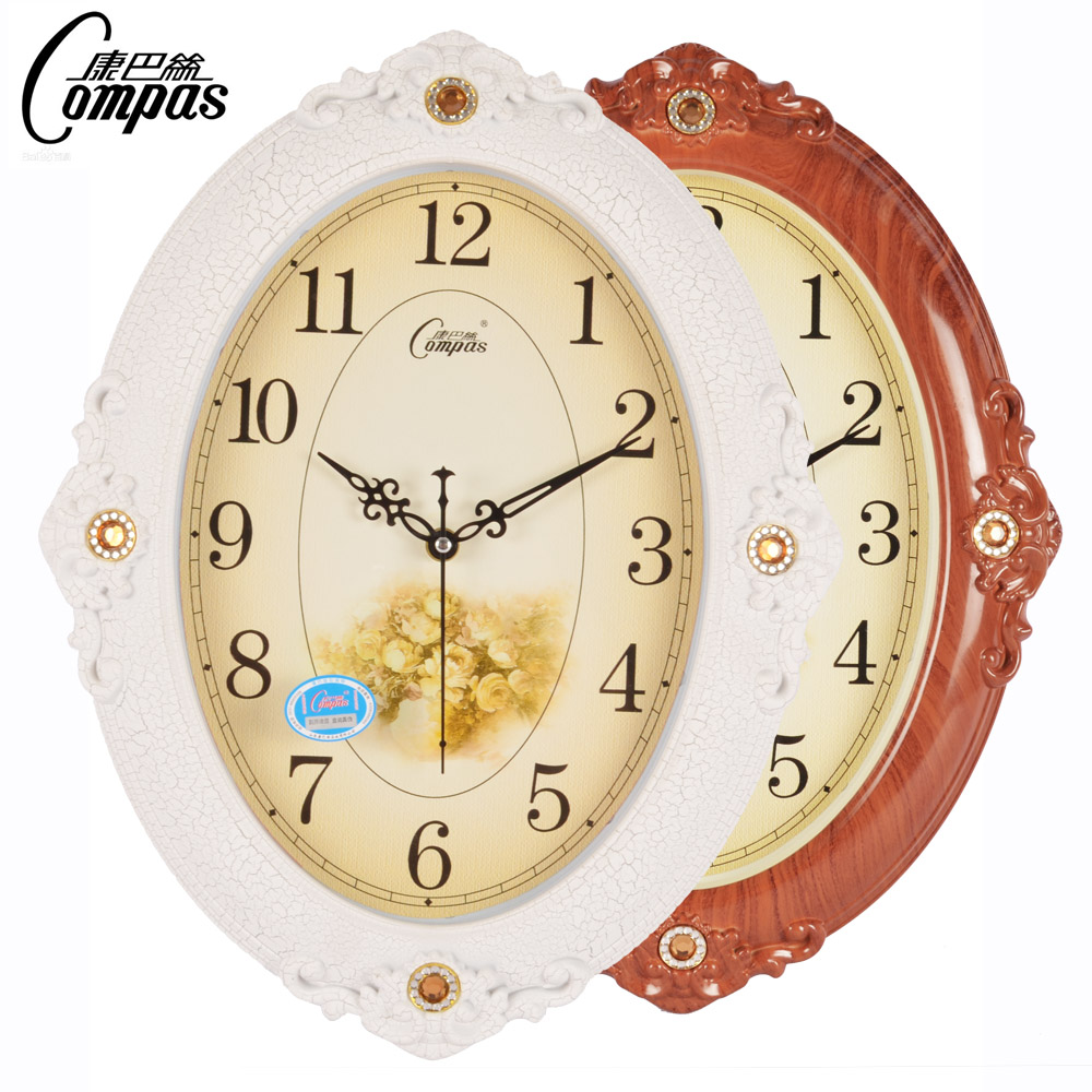 horloges mute horloge murale vintage horloge quartz rustique mode br ve horloge cr ative. Black Bedroom Furniture Sets. Home Design Ideas