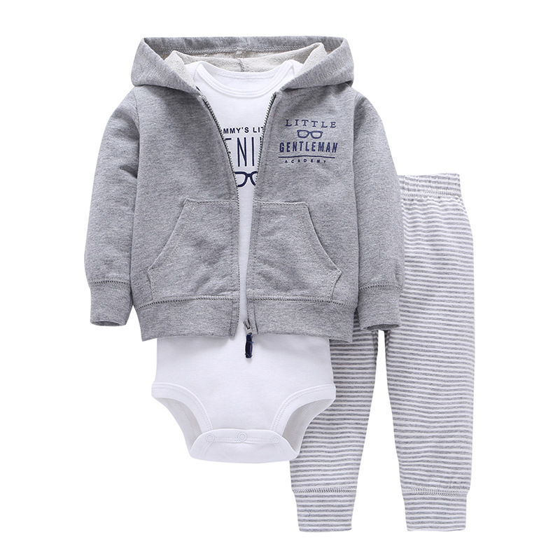 Cheap cotton baby clothes boutique newborn baby clothes set