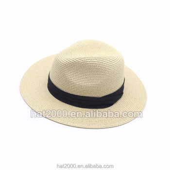 880afa44d148e ... Hats (119073510). PS01 China Custom fashion summer women man wide brim  paper panama straw fedora beach floppy foldable