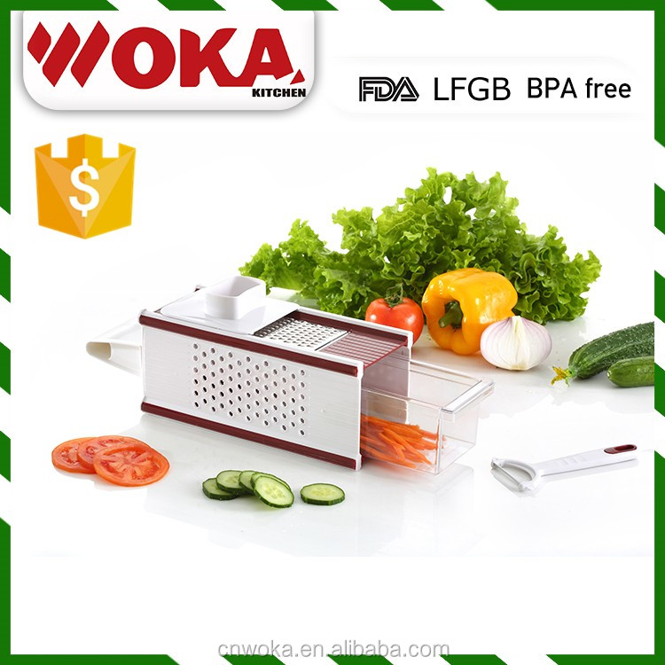 Newest design manual vegetable box slicer dicer as see as TV