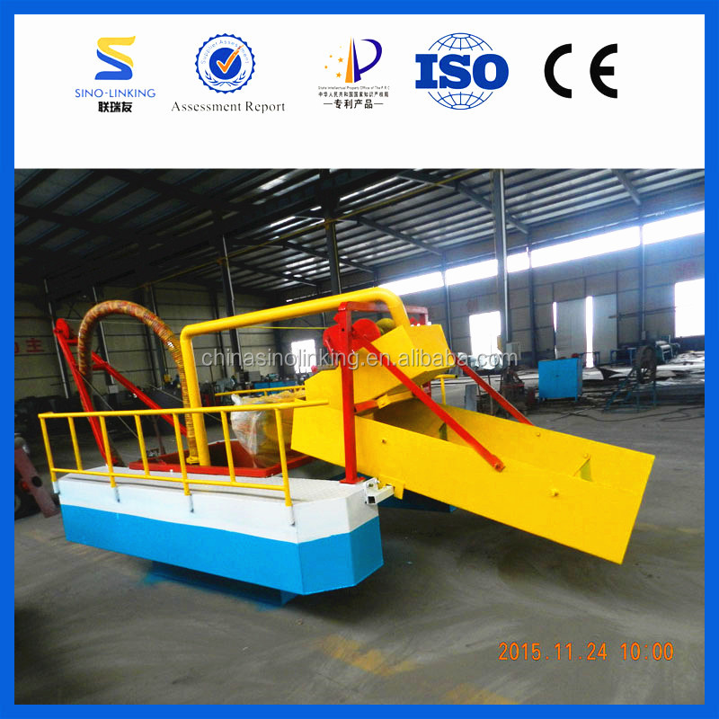 SINOLINKING Gravity High Recovery Efficiency Gold Dredge Ship