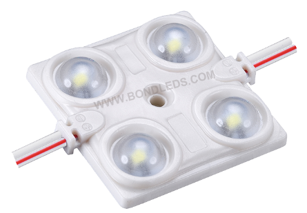 CE Rohs most powerful Everlight dc12V 1.44W SMD 2835 2 LED injection modules for double sided outdoor sign