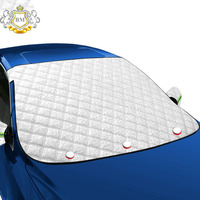 Car Sunshade Window Screen Cover Windshield Snow Cover with Magnetic Edges