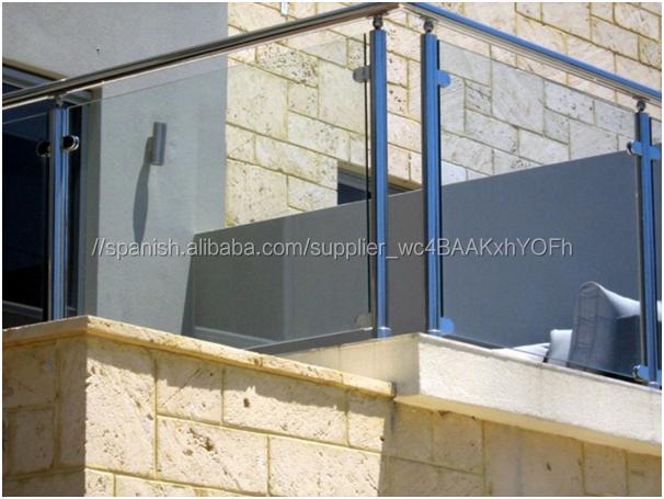 Vidrios para balcones barandilla de aluminio con paneles - Balcones de cristal ...