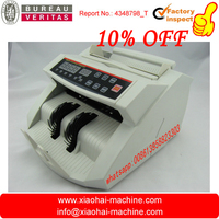 USD / EURO popular currency money Bill counting machine with fake note detector