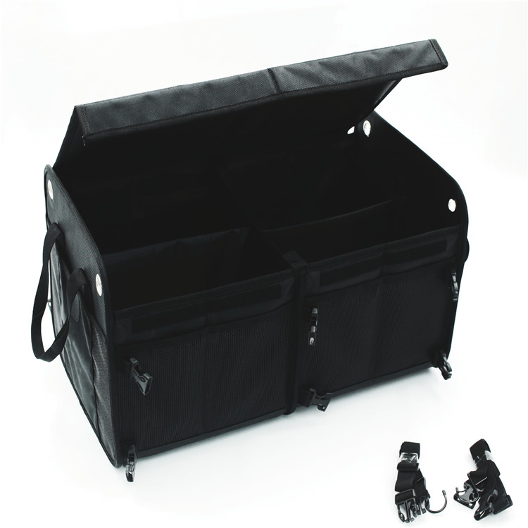 Osgoodway High Quality Wholesale Durable Collapsible Golf Car Trunk and Backseat Storage Organizer for Truck Bed