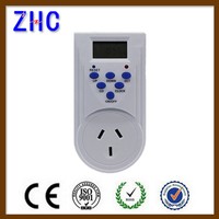 TGE-6A 220 volt Australian plug programmable 24 hour digital time switch timer switch