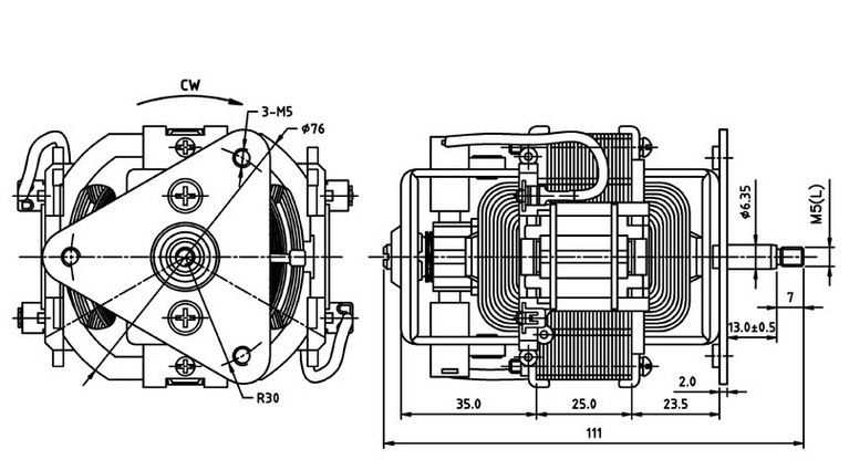 Hc7625 Electric Motor Used In Electric Shaver Buy