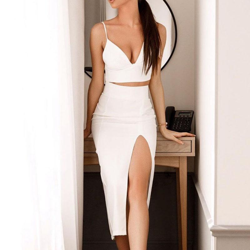 929ce230df69 Venta al por mayor top y faldas fiestas-Compre online los mejores ...