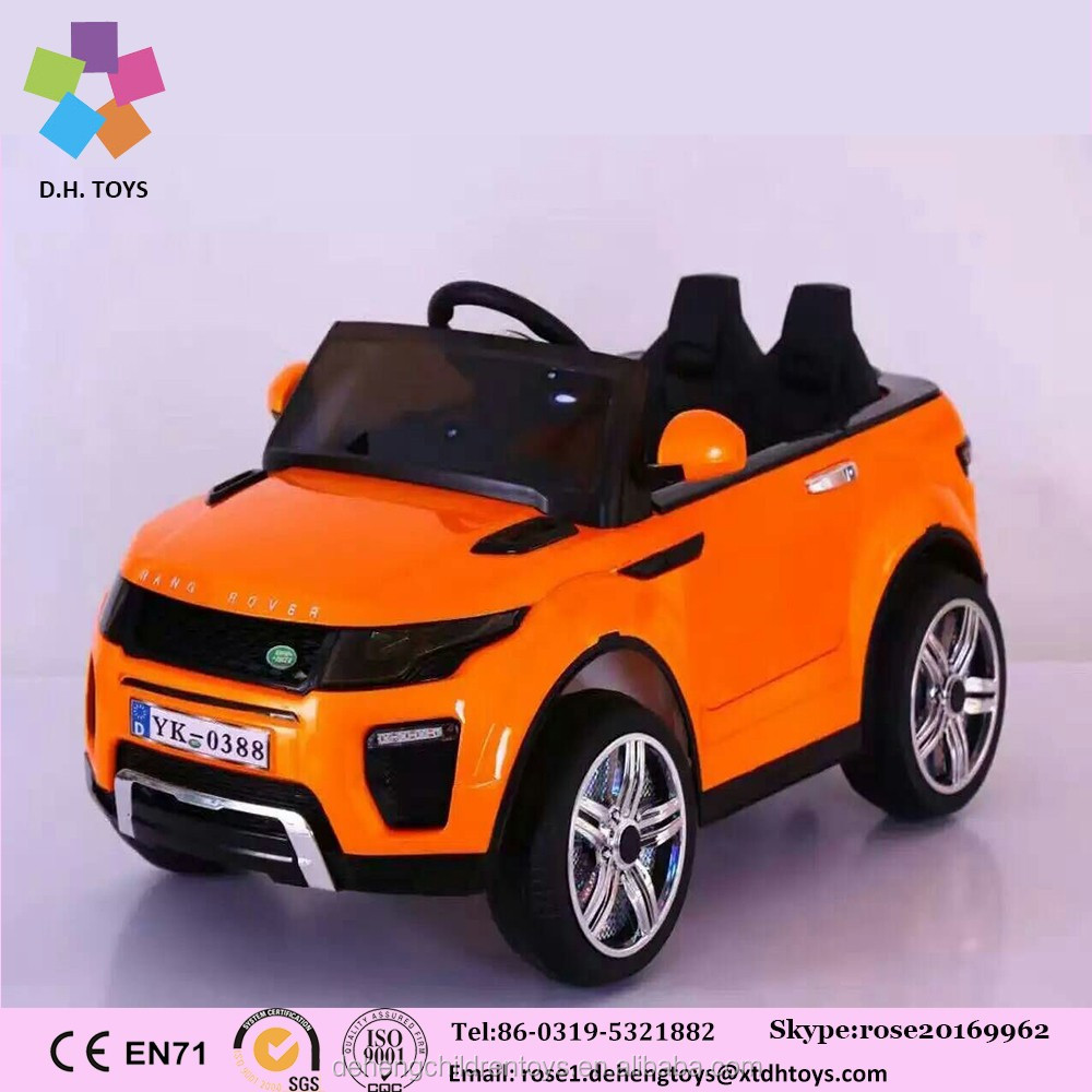 China factory toys childrens 10 years two seat 6V electric car for children