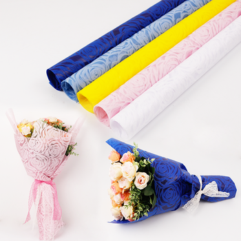 Non Woven Flower Wrapping Paper Buy Non Woven Fabric Rolls