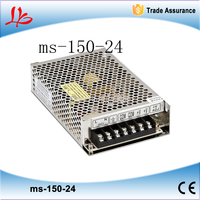 24v 150w 6.5A mini size led power supply unit ac dc converter ms-150-24