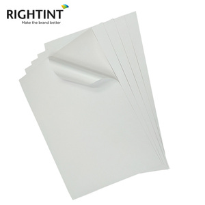 Factory Price Available A3 A4 Matt White Self Adhesive Printable Paper