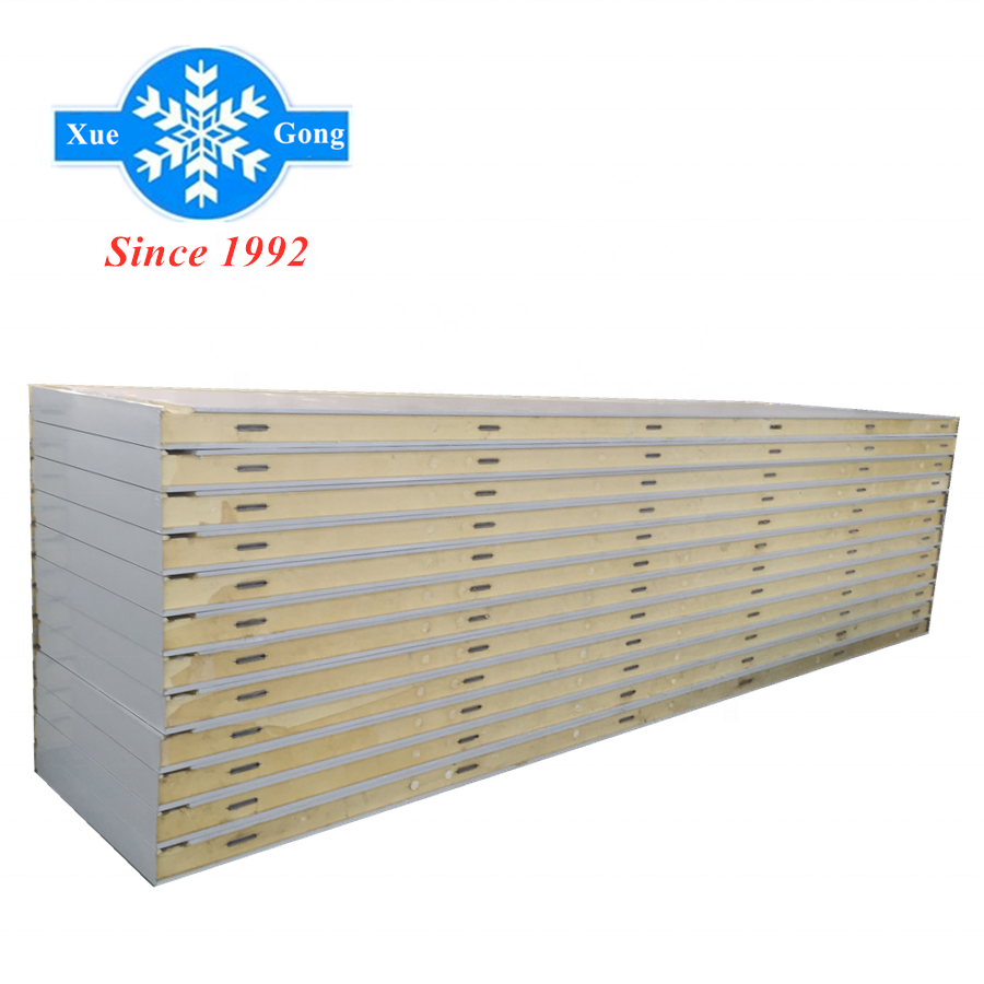 150mm cool room color steel Pu sandwich <strong>panel</strong>