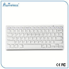 Hot selling Ultra Mini Bluetooth 3.0 Wireless Keyboard with Touchpad and Flashlight for iPad, iPhone & Smart Phone