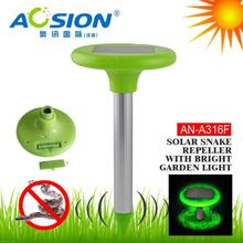 Aosion patent solar power repel snake vole mole gopher keeping snakes out of yard sample available