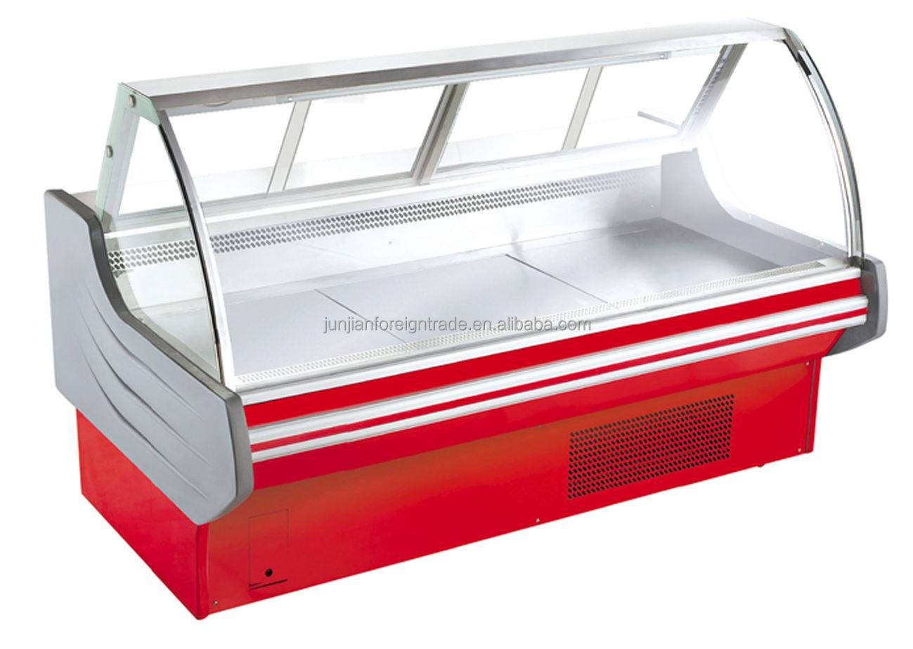supermarket meat serve over 3 meter guangzhou manufacturer OEM available Split type