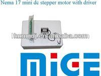 17HM3630 Nema 17 mini dc stepper motor with driver