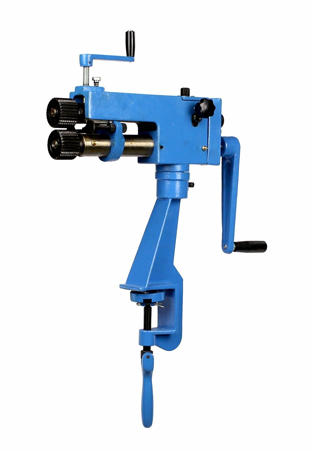 Erie Tools Rotary Machine Bead Roller Sheet Metal Forming & Steel Bender HVAC Fabrication with 22 Gauge Capacity