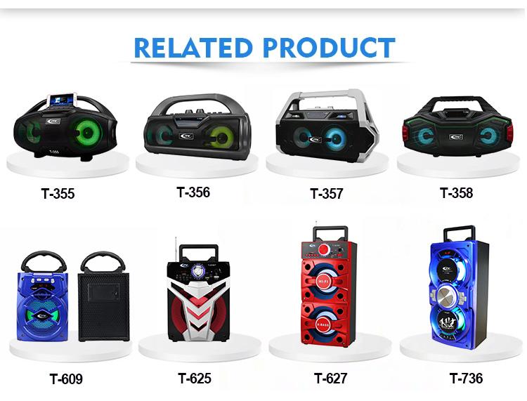 2019new ürünleri ucuz fiyat karaoke partisi bluetooth wirelsee ITK 30 w ışık şarj edilebilir cd boombox su geçirmez taşınabilir hoparlör