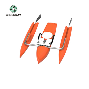 ADCP Echo sounder river inshore data collection unmanned boat measurement platform HDPE vessel