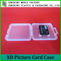 Portable plastic Memory XD Picture case