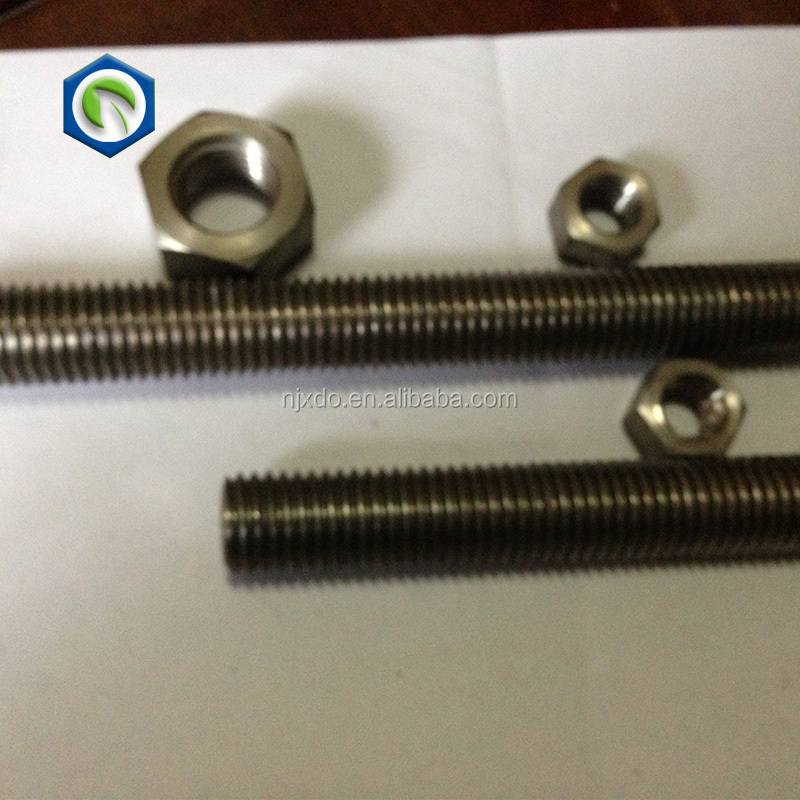 Hastelloy C22/2.4602 stainless steel fasteners all threaded rods imports from china